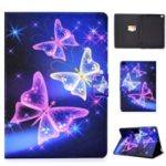 Pattern Printing Leather Stand Case for iPad 9.7-inch (2018)/9.7-inch (2017)/Air 2/Air – Vivid Butterfly