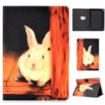 Pattern Printing Leather Stand Case for iPad Pro 10.5-inch (2017) – Cute Rabbit