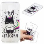 Pattern Printing Embossment TPU Protection Casing for Samsung Galaxy A6 (2018) – Cool Unicorn