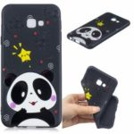 Pattern Printing Embossed TPU Case for Samsung Galaxy J4+ – Cute Panda