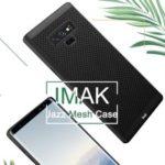 IMAK Jazz Mesh Hard Plastic Case for Samsung Galaxy Note9 SM-N960 – Black