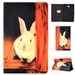 Pattern Printing Leather Stand Case for Samsung Galaxy Tab A 10.1 (2016) T580 T585 P580 – Cute Rabbit
