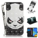 Pattern Printing Wallet Leather Cover with Stand for Samsung Galaxy A7 (2018) – Angry Panda