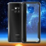 Shockproof Drop-proof Combo TPU Edges PC Hard Mobile Case for Huawei Mate 20 Pro – Black