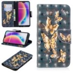 Pattern Printing Light Spot Decor Leather Wallet Case for Huawei P20 Lite / Nova 3e (China) – Flying Butterfly