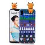 3D Cute Doll Christmas Pattern TPU Case for Huawei P Smart+ / nova 3i – Christmas Tree and Gift