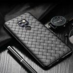 ROCK Woven Pattern Heat Dissipation TPU Case for Huawei Mate 20 – Black
