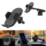 Qi Wireless Fast Car Charger Car Air Vent Holder with Automatic Infrared Sensor for iPhone X / Samsung Galaxy S9