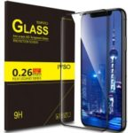IVSO Anti-crack HD 0.26mm 9H Full Covered 3D Tempered Glass Screen Protector for iPhone XR 6.1 inch – Black