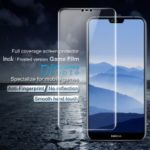 2PCS IMAK Frosted Hydrogel Game Film Full Covering Anti-scratch Screen Protector Film for Nokia 7.1