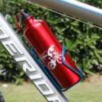 750ML Bicycle Cycling Aluminum Alloy Cup Water Bottle – Red