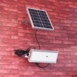 30W Outdoor Solar Flood Light 2500lm 65-LED Radar Sensor IP65 Waterproof Wall Lamp