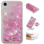 Dynamic Glitter Powder Sequins Patterned TPU Case for iPhone XR 6.1 inch – Mandala