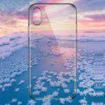 TOTU Matte Clear Ultra Thin TPU Case Shell for iPhone XS Max 6.5 inch – Transparent