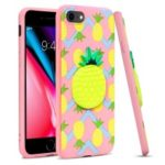 IMAK Stereoscopic Soft TPU Protection Case for iPhone 8 / 7 4.7 inch – Pineapple