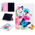 Pattern Printing Leather Wallet Tablet Case for iPad Pro 11-inch (2018) – Vivid Butterflies
