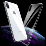 X-LEVEL Clear Series Germany Bayer TPU Case Cover for iPhone XS Max 6.5 inch – Transparent