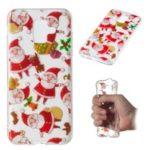 Christmas Series Pattern Printing TPU Case for Samsung Galaxy A6 (2018) – Santa Claus
