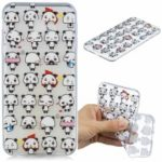 Pattern Printing Embossment TPU Case Mobile Accessory for Samsung Galaxy J4 Plus – Cartoon Panda