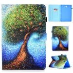 Pattern Printing PU Leather Tablet Cover for Samsung Galaxy Tab S4 10.5 T830 T835 – Tree