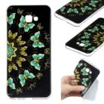 Pattern Printing TPU Case for Samsung Galaxy J4 Plus / J4 Prime – Colorized Butterfly