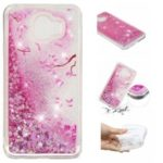Dynamic Glitter Powder Sequins Patterned TPU Case for Samsung Galaxy J4 (2018) – Petals
