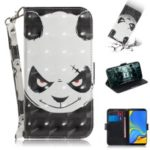 Pattern Printing PU Leather Wallet Case for Samsung Galaxy A9 (2018) / A9 Star Pro / A9s – Angry Panda