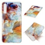 Marble Pattern IMD TPU Case for Samsung Galaxy A7 (2018) – Style A