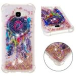 Patterned Quicksand TPU Phone Case for Samsung Galaxy J4 Plus / J4 Prime – Colorful Dream Catcher