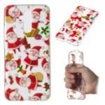 Christmas Pattern Printing TPU Jelly Mobile Case for Huawei Mate 20 Lite / Maimang 7 – Santa Claus