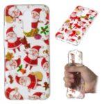 Christmas Pattern Printing TPU Jelly Mobile Case for Huawei Mate 20 Lite / Maimang 7 – Santa Claus