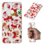 Christmas Pattern Printing TPU Jelly Mobile Case for Huawei nova 3i / P Smart Plus – Santa Claus