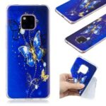 Pattern Printing TPU Case for Huawei Mate 20 Pro – Butterfly Pattern