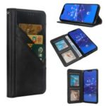 Flip Wallet Stand Leather Phone Case for Huawei Mate 20 Lite / Maimang 7 – Black