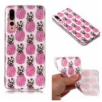Pattern Printing Matte Surface IMD TPU Case for Huawei P20 Pro – Pineapple
