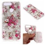 Pattern Printing Matte Surface IMD TPU Case for Honor 7A (with Fingerprint Sensor) / Honor 7A Pro / Enjoy 8e – Vivid Flower