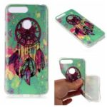 Pattern Printing Matte Surface IMD TPU Cell Phone Case for Honor 7A (with Fingerprint Sensor) / Honor 7A Pro / Enjoy 8e – Dream Catcher