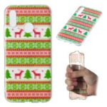 Christmas Series Pattern Printing TPU Case for Huawei P20 Lite / Nova 3e (China) – Christmas Tree and Reindeer