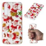 Christmas Pattern Printing TPU Jelly Mobile Case for Huawei P20 Pro – Santa Claus