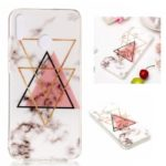 Marble Pattern IMD TPU Phone Cover Case for Huawei Honor 8X – Style J