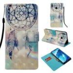 Light Spot Decor Pattern Printing Leather Flip Case for Huawei Honor 8X Max – Dream Catcher