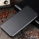 X-LEVEL Leather Flip Stand Casing for Huawei Mate 20 Lite / Maimang 7 – Black