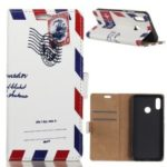 Pattern Printing Leather Wallet Case for Motorola One Power / P30 Note in China – Retro Postmark