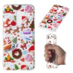 Christmas Series Pattern Printing TPU Back Case for Xiaomi Pocophone F1 / Poco F1 in India – Christmas Elements