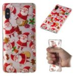 Christmas Pattern Printing TPU Jelly Mobile Case for Xiaomi Redmi Note 5 Pro (Dual Camera) / Redmi Note 5 (China) – Santa Claus