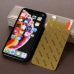RURIHAI 0.1mm [Nano Anti-explosion] Soft PET Screen Protection Film for iPhone XR 6.1 inch