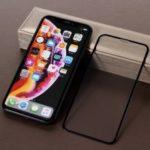 RURIHAI 4D AG Matte Tempered Glass Full Screen Protector Anti-fingerprint for iPhone XR 6.1 inch