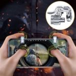 ROCK Upgrade PUBG-Gampad Phone Game Controller Assist Tool – Transparent