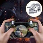 ROCK Upgrade PUBG-Gampad Phone Game Controller Assist Tool – Transparent