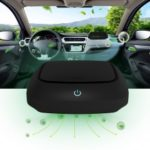 QP01 Mini Car Air Purifier Ionizer Generator Air Cleaner for Inside Car Use Air Fresh